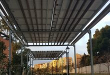 Las instalaciones fotovoltaicas del Parque Lineal de Benimàmet ahorran un 75% del consumo energético y casi la mitad de la factura eléctrica