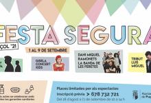 Esta es la programación de «Festa Segura 2021» en Puzol