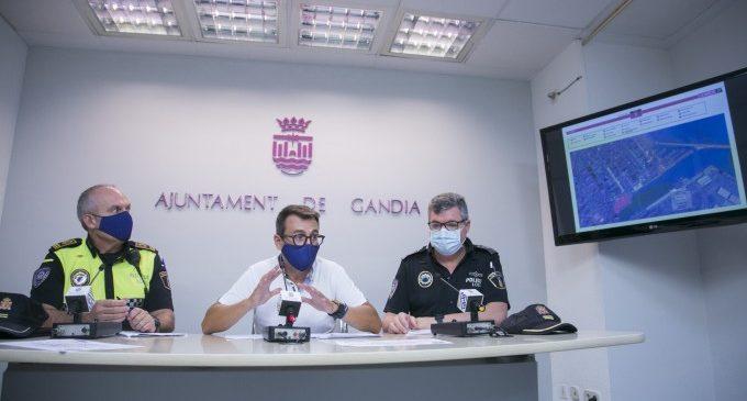 Gandia posa en marxa un dispositiu especial amb motiu de la celebració de l'etapa de la volta ciclista a Espanya