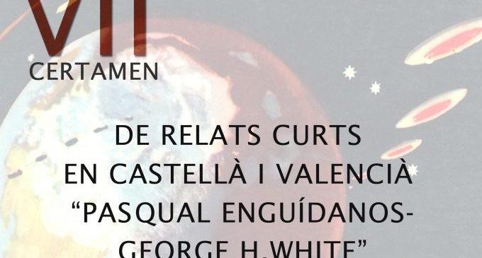 Obert el termini d'inscripció per al VII certamen literari 'Pascual Enguídanos-George H. White'
