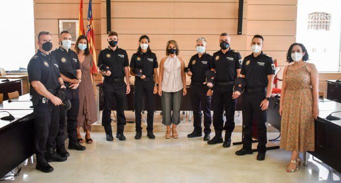 Alfafar incorpora sis nous agents a la Policía Local