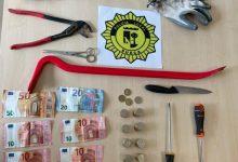 La Policia Local de Sueca deté al presumpte autor d'un robatori amb força en un establiment