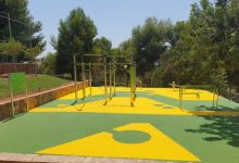 El Club Social Alfinach de Puçol inaugura dues noves instal·lacions: un parc de calistenia i un rocòdrom infantil