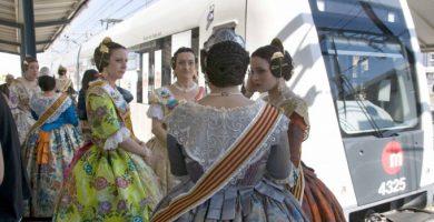 Metrovalencia, EMT i Renfe reforcen els seus serveis durant la setmana de Falles