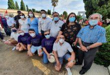L'alcalde Jorge Rodríguez acompanya a les famílies d'Ontinyent en l'inici de la recuperació de les restes de la Fossa 21 de Paterna