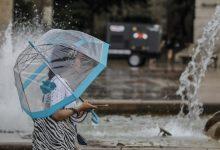 S'activa l'avís groc per tempestes a la Comunitat Valenciana