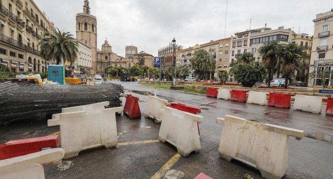 Amplien l'excavació de la plaça de la Reina de València després de la troballa de restes arqueològiques visigodes