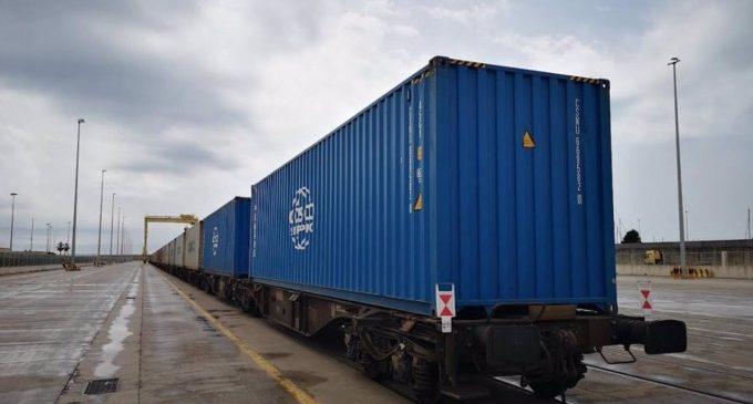Més de 2.000 trens passen pel Port de València en el primer semestre de l'any