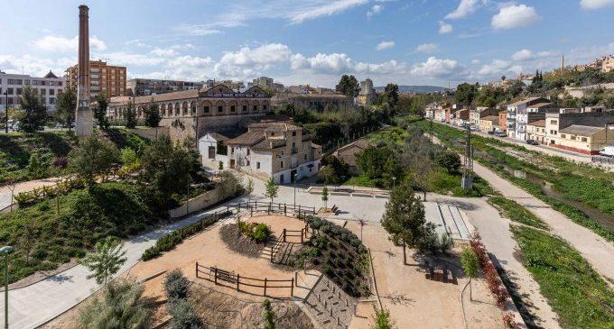 Ontinyent incrementa el seu patrimoni verd en crear en els últims 5 anys 39.400 m² de zones enjardinades