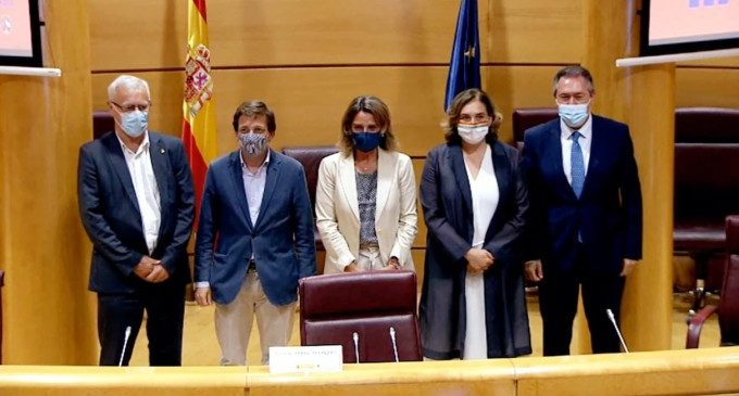"""València s'uneix a les principals capitals espanyoles en un acord """"per a la transformació de les ciutats"""""""