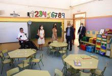 El secretari Autonòmic d'Educació visita al CEIP Mare de Déu del Pilar de Bonrepòs i Mirambell