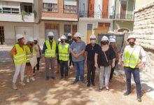 El director general d'Infraestructures Educatives visita les obres del col·legi Carrasquer de Sueca