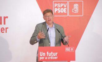 """Ximo Puig: """"El PSPV-PSOE aporta al socialisme espanyol una visió federal, descentralitzada, i capaç d'entendre l'Espanya de les Espanyes"""""""