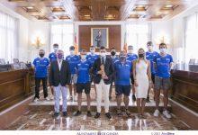 Gandia rep al Club d'Atletisme de la ciutat desprès del seu ascens a primera divisió nacional