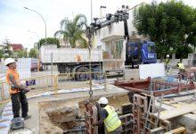Obras de mantenimiento en la red de agua potable de Paiporta