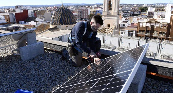 Paiporta promou una innovadora comunitat energètica d'autoconsum col·lectiu d'energia solar
