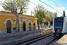 Ferrocarrils de la Generalitat restableix el servei ferroviari entre les estacions d'Empalme i Burjassot de Metrovalencia