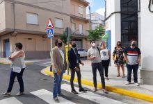 El vicepresident Bielsa visita obres finançades per la Diputació en municipis de La Safor