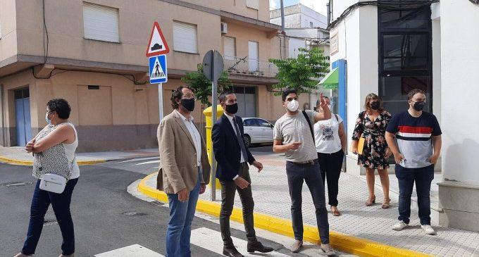 El vicepresidente Bielsa visita obras financiadas por la Diputació en municipios de La Safor