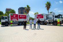 Mislata incorpora dos camiones de recogida de residuos propulsados por gas en su apuesta por la movilidad sostenible