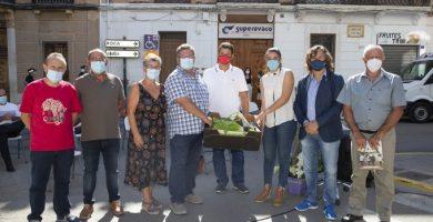 La consellera de Agricultura, Mireia Mollà, visita Fimel en Meliana