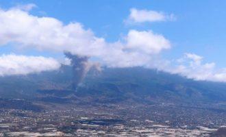 """Puig muestra la """"solidaridad y el cariño"""" de la Comunitat Valenciana a Canarias tras la erupción del volcán"""