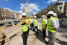 València espera informes tècnics per a saber quan acabaran les obres de la plaça de la Reina