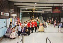 Metrovalencia ha desplaçat a més de 700.000 persones usuàries de l'1 al 5 de setembre durant les Falles