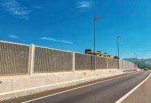 Obras Públicas mejora la calidad acústica en el entorno de la CV-50 en Alzira